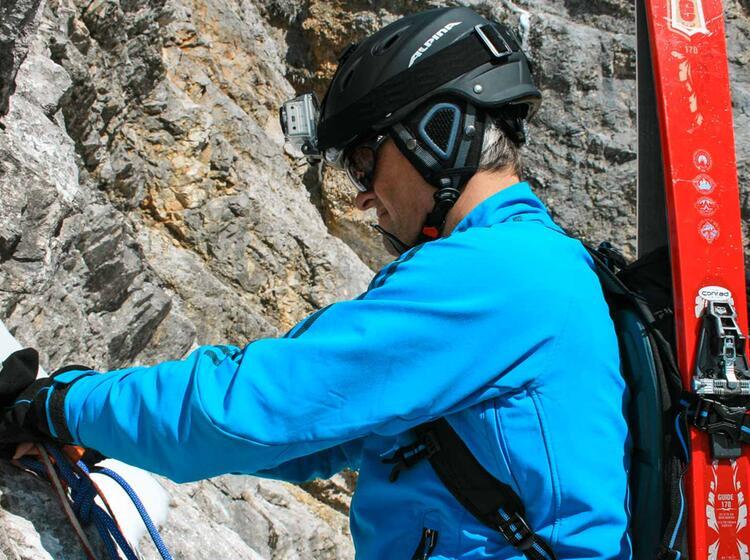 Abseilen Mit Bergfuehrer In Der Neuen Welt