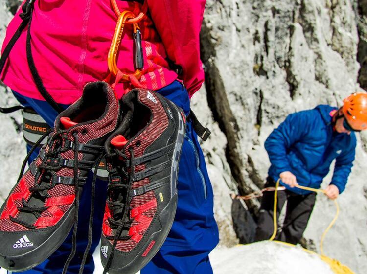Adidas Kletterkurs
