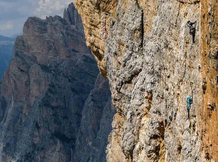 Alpinkletterkurse Fuer Fortgeschrittene