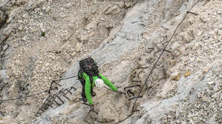 Alpspitze Ferrata Mit Bergfuehrer