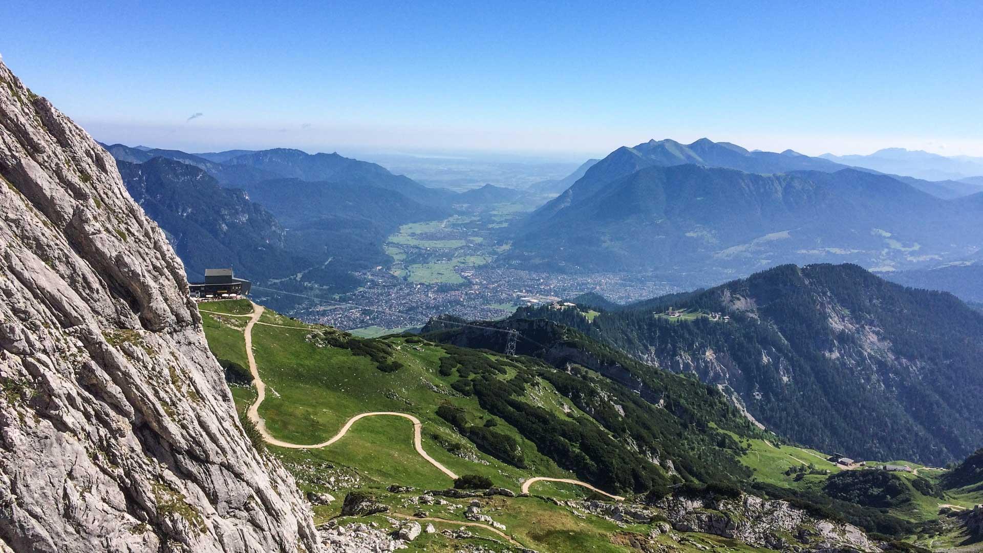 Klettersteig Alpspitze : Alpspitze klettersteig via ferrata
