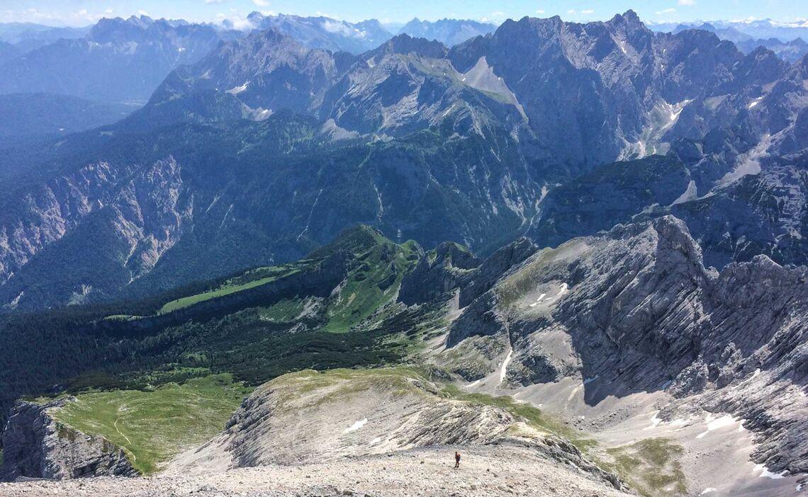 Alpspitze Klettersteigkurs