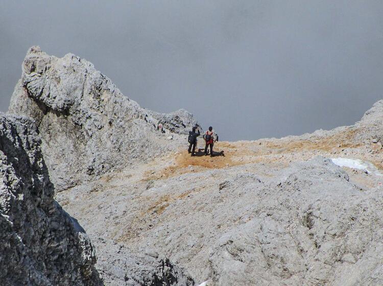 Auf Die Zugspitze Mit Bergfuehrer Garmisch
