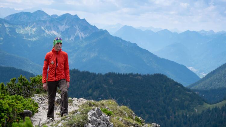 Beim Wandern Mit Bergwanderfuehrer Markus Arndt