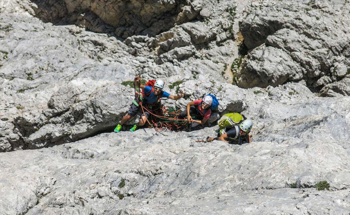 Bequemer Standplatz In Den Dolomiten