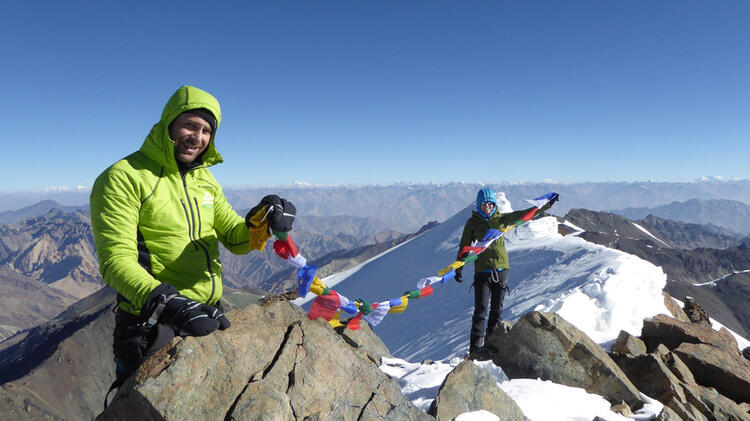 Bergfuehrer Simon Kraus Am Trekking Ladakh