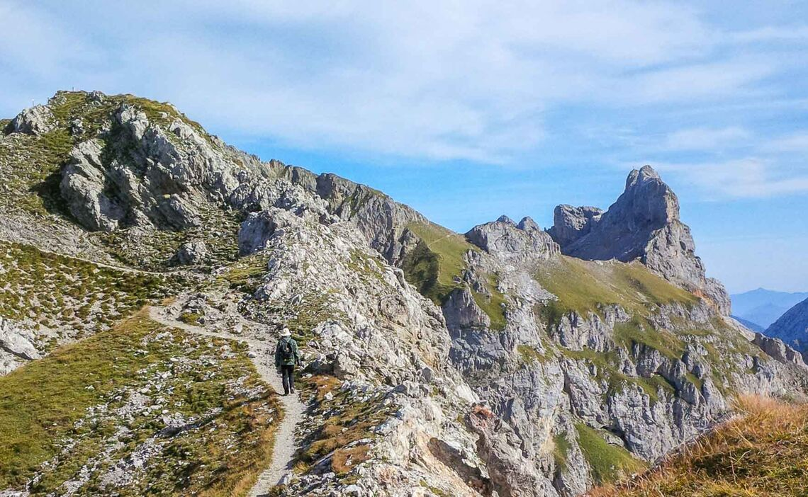 Bergsteigerschule Zugspitze Am Mittenwalder Hoehenweg