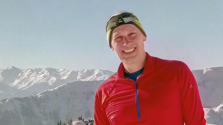 Bergwanderfuehrer Manfred Beier Am Klettersteig Kopie