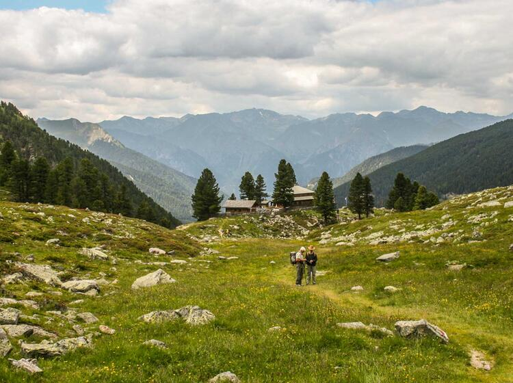Bergwandern In Den Ammergauer Alpen