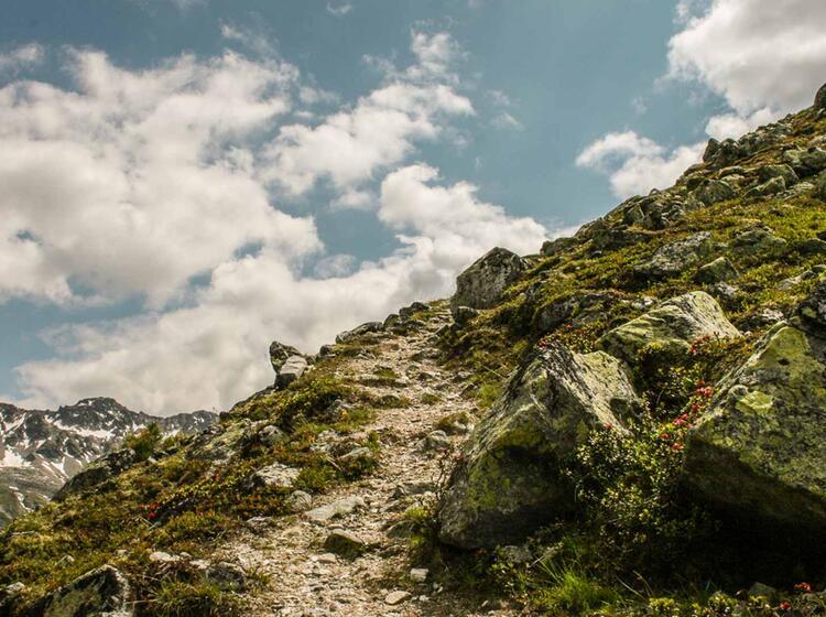 Bergwandern In Den Oetztaler Alpen Mit Bergfuehrer
