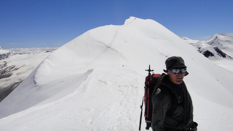 Bernd Hettich Ist Bergfuehrer In Garmisch Partenkirchen Fuer Hochtouren Und Klettersteige