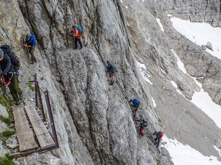 Brenta Klettersteig Woche