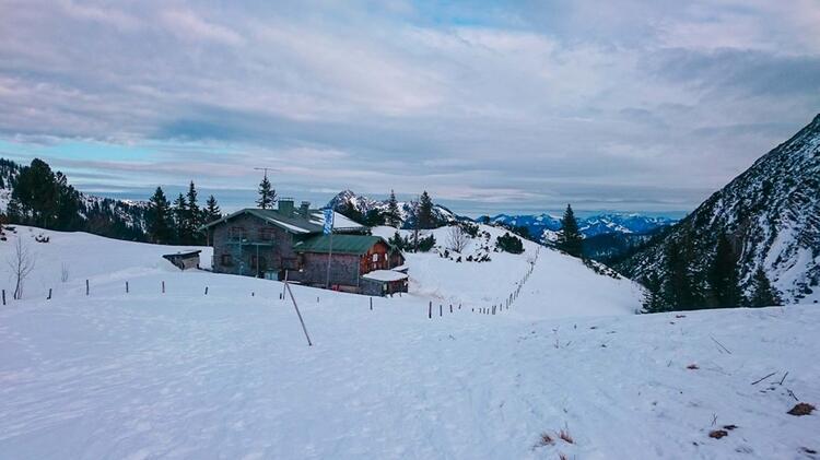 Das Taubensteinhaus Am Spitzingsee Auf Der Rotwandreibn