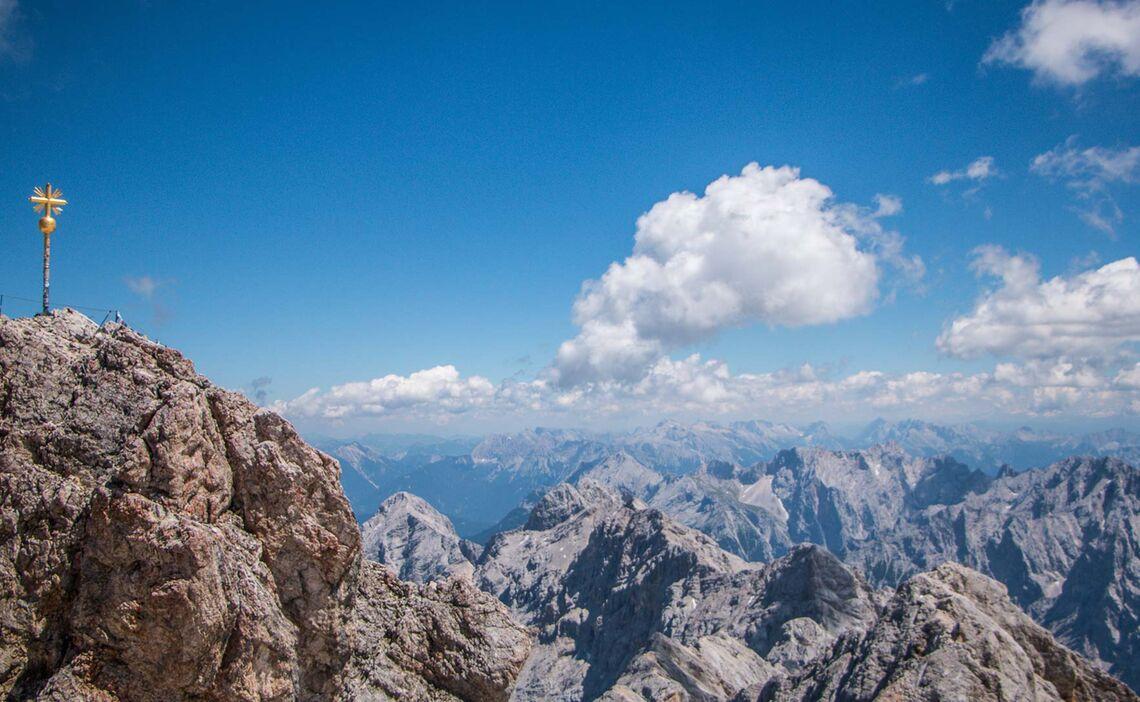 Der Gipfel Der Zugspitze