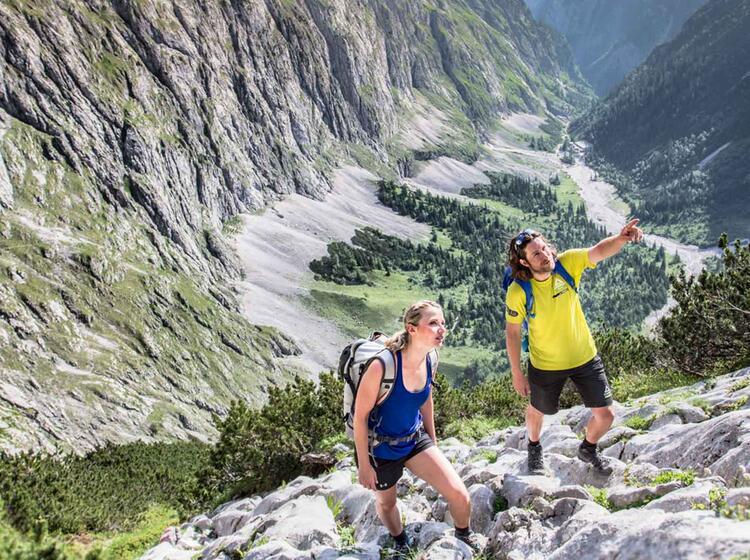 Der Hoellental Klettersteig Zur Zugspitze