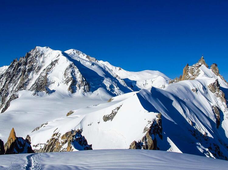 Der Mont Blanc Hochtour Gefuehrt