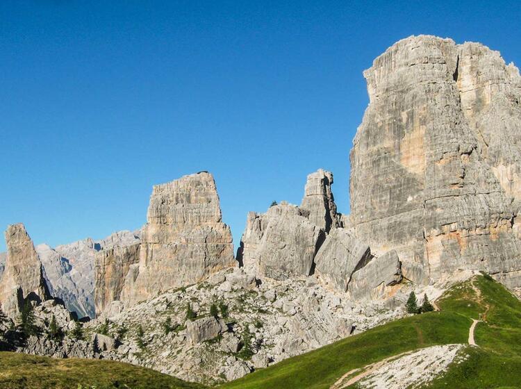 Die Dolomitentour Quer Durch Die Fanes Und Die Quinque Terre