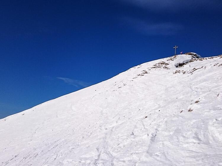 Die Rotwand U Ber Dem Spitzingsee Auf Der Schneeschuhtour