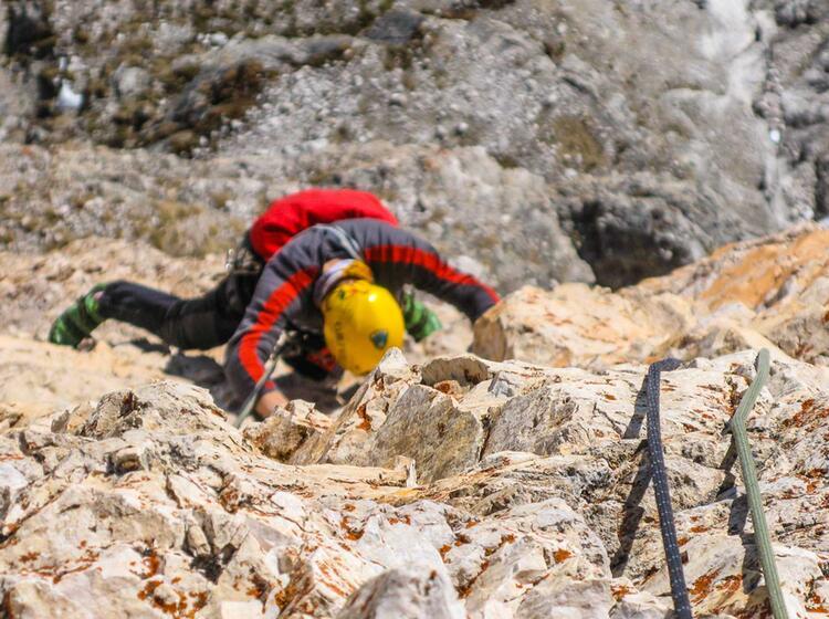 Dolomiten Klettern Mit Bergfuehrer