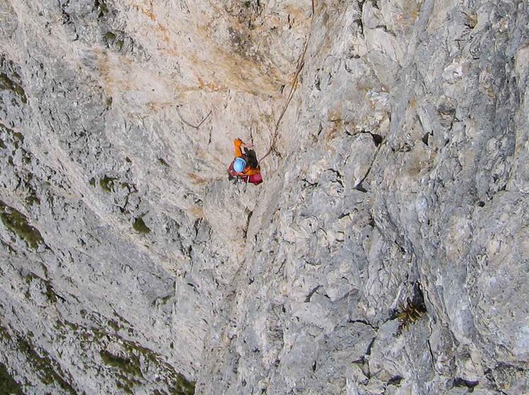 Dolomiten Mit Bergfueher