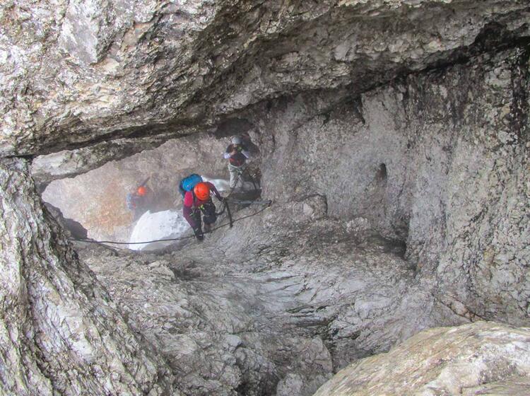 Einfacher Klettersteig Auf Die Zugspitze Stopselzieher