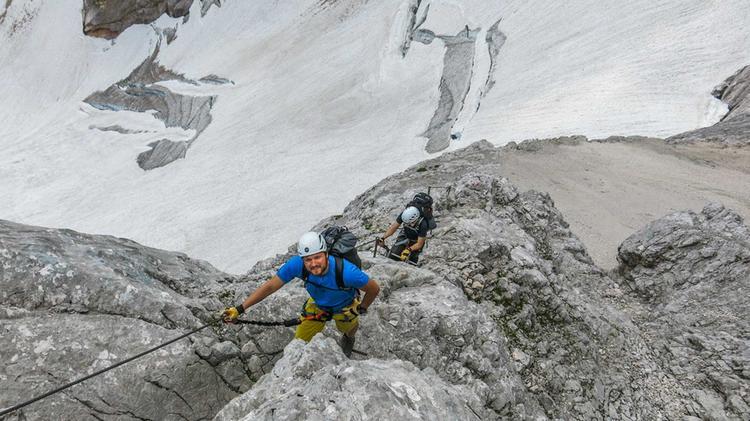 Einfacher Klettersteig Durch Das Hoellental Zur Zugspitze