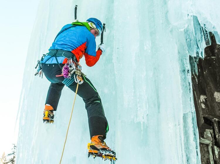 Eisklettercamp In Rjukan Norwegen 2