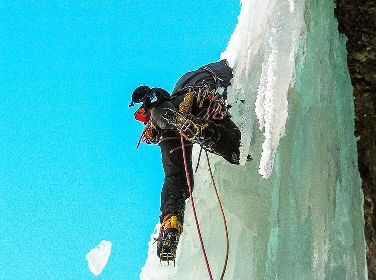 Eisklettern Fu Hrung Und Kurs Mit Einem Bergfu Hrer