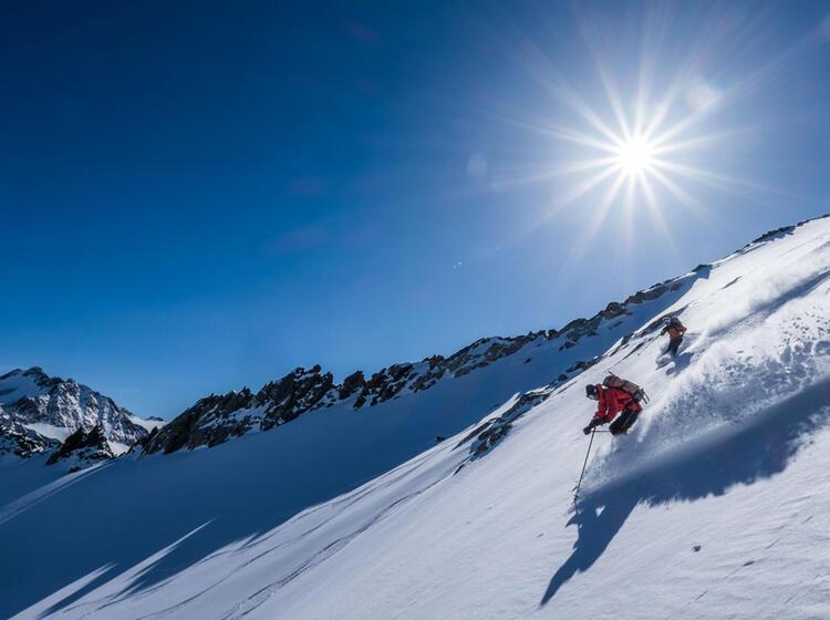 Freeride Touren In Den Dolomiten Mit Bergfuehrer Thomas Engl