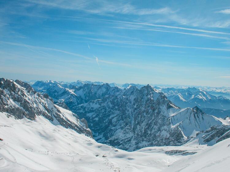 Freeriden In Der Neuen Welt An Der Zugspitze
