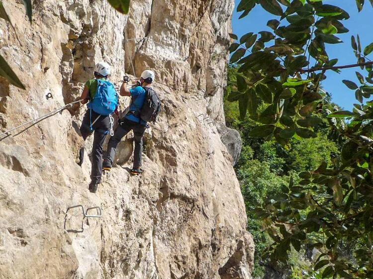 Gardasee Klettersteigkurse Mit Bergfuehrer