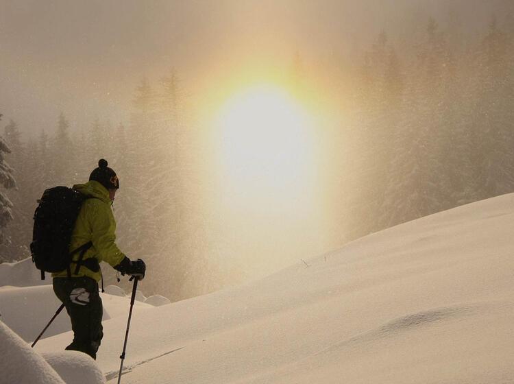 Gefu Hrte Schneeschuhtouren