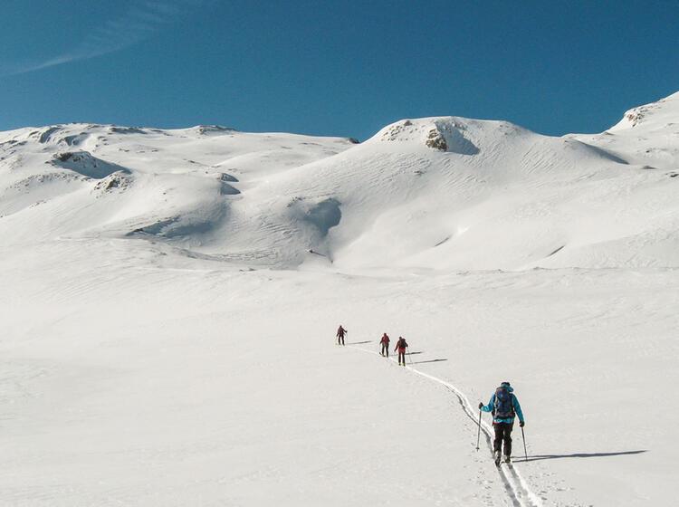 Gefu Hrte Skitour Zur Alpspitze