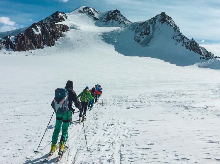 Gefu Hrte Skitouren Im O Tzal Mit Bergfu Hrer