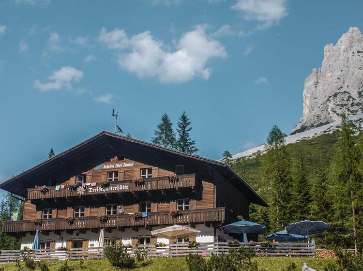 Gefuehrte Alpenueberquerung
