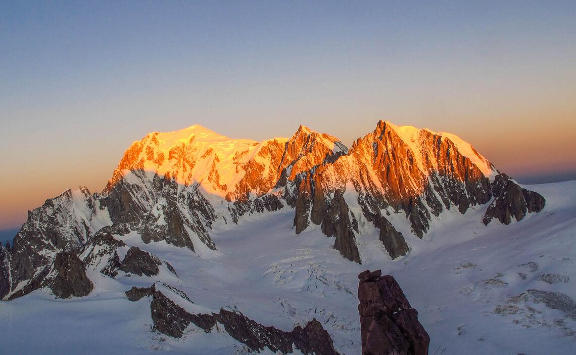 Gefuehrte Hochtour Auf Den Mont Blanc