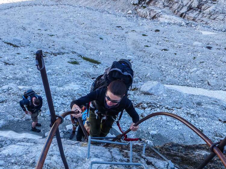 Gefuehrte Klettersteigwoche In Der Brenta