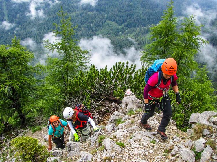 Gefuehrte Tour Auf Die Zugspitze Ueber Die Wiener Neustaedter Huette 1