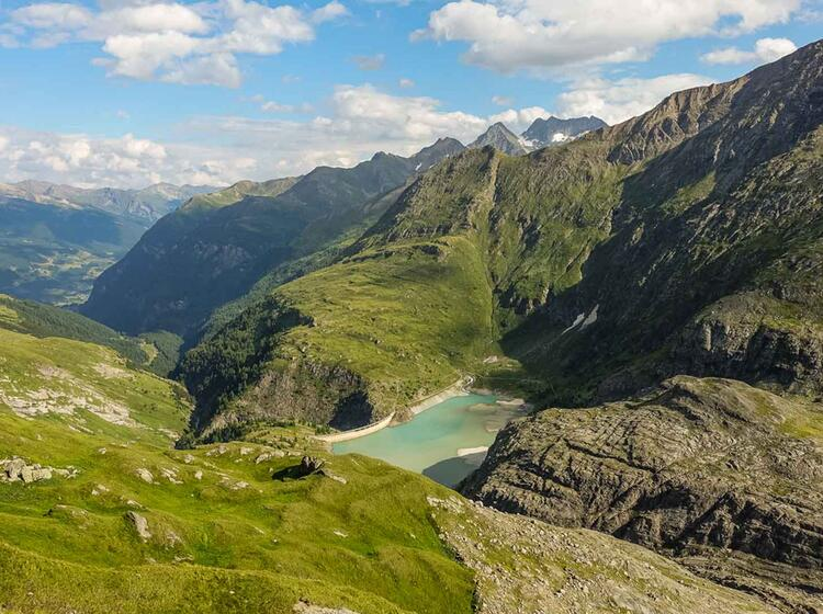 Gefuehrte Wandertour Ueber Die Alpen