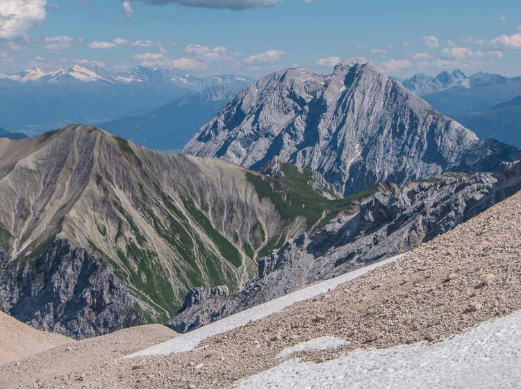 Gefuehrte Wanderung Rund Um Die Zugspitze