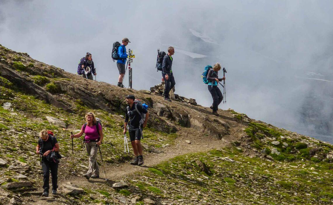 Gefuehrtes Bergwandern Im Allgaeu
