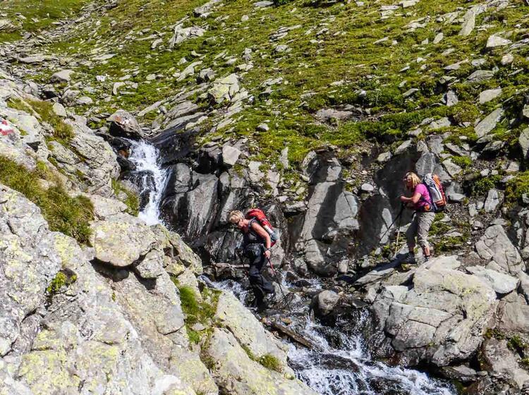 Gefuehrtes Bergwandern
