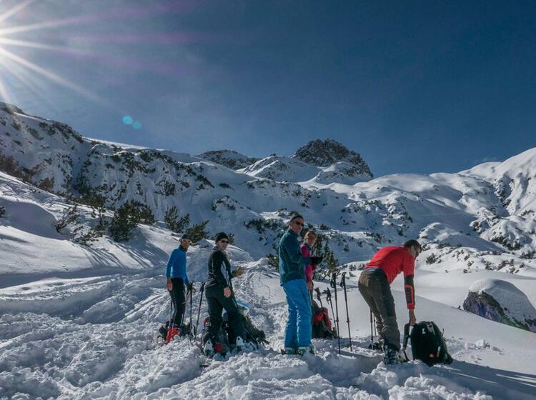 Gefuehte Skitouren Im Lechtal