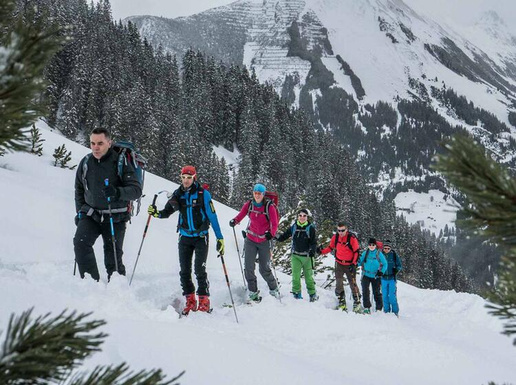 Gefuehte Skitouren In Den Lechtaler Alpen Mit Bergfuehrer