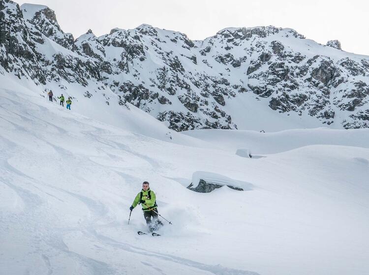Genuss Skitouren Im Lechtal Mit Bergfuehrer