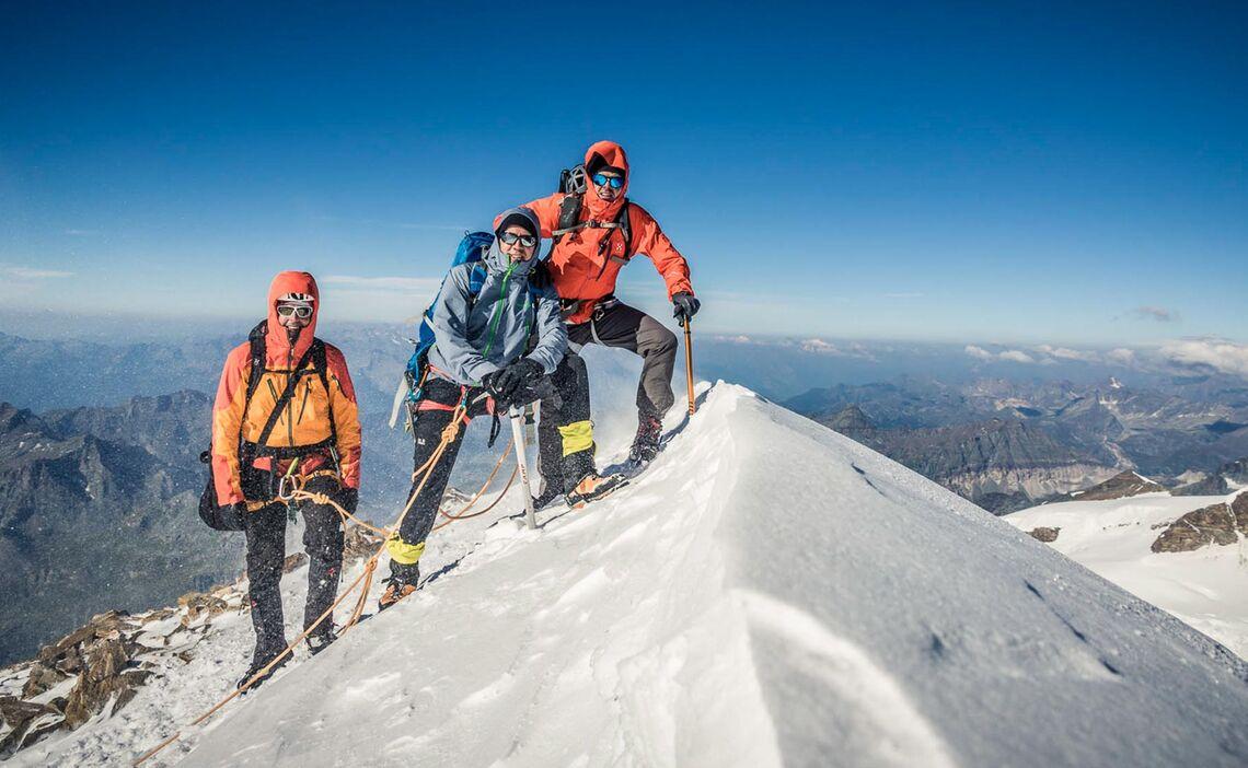 Gletscher Hochtour Zum Gran Paradiso