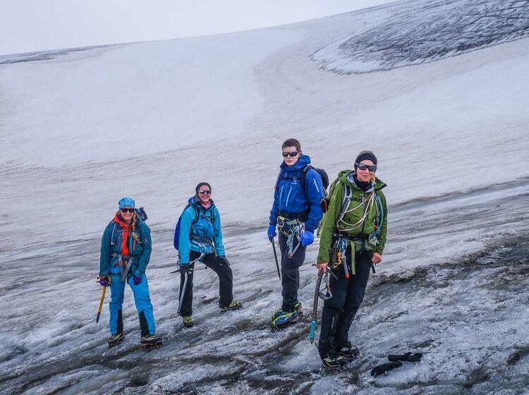 Gletscher Runde Im Oetztal Mit Wildspitze Und Similaun