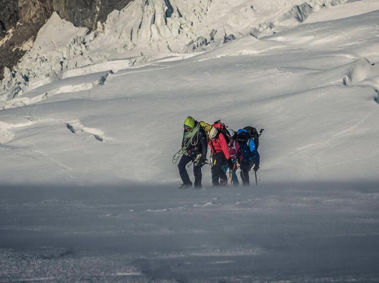 Gletscher Tour Im Aosta Tal Zum Gran Paradiso Mit Bergfuehrer