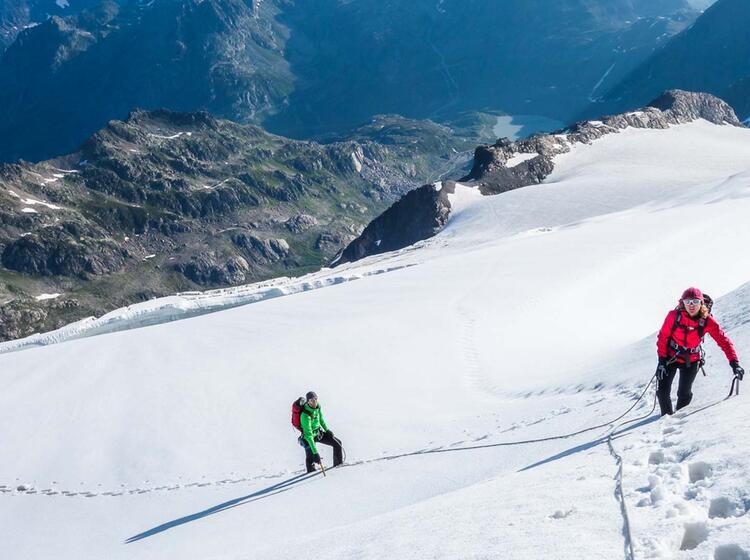 Gletscher Und Hochtourenkurs In Der Schweiz Mit Bergfuehrer