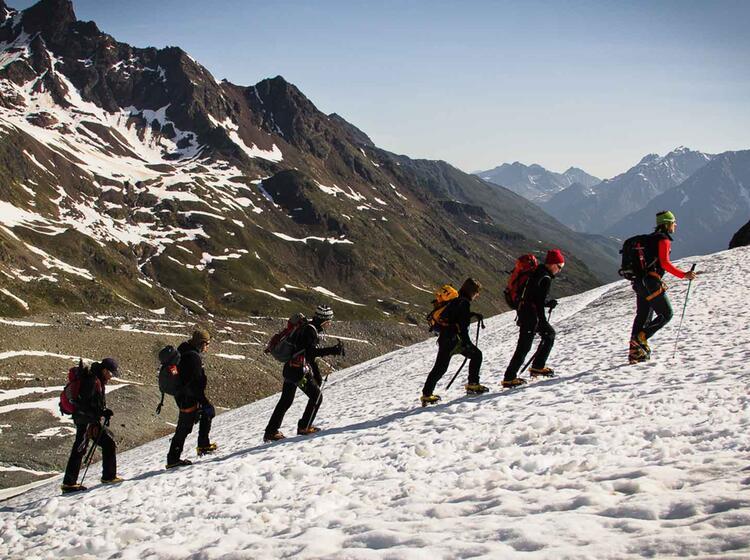Gletscherkurs Abschlusstour Zur Wildspitze